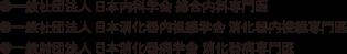 ●一般社団法人 日本内科学会 総合内科専門医 ●一般社団法人 日本消化器内視鏡学会 消化器内視鏡専門医 ●一般財団法人 日本消化器病学会 消化器病専門医